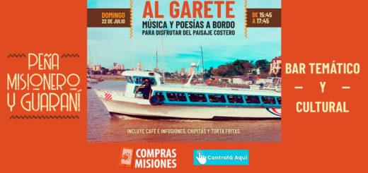 """Hoy sale """"Al Garete"""": poesía y música en el Río Paraná…"""