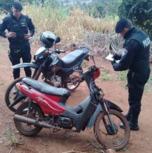 La Policía de Oberá recuperó una moto sustraída
