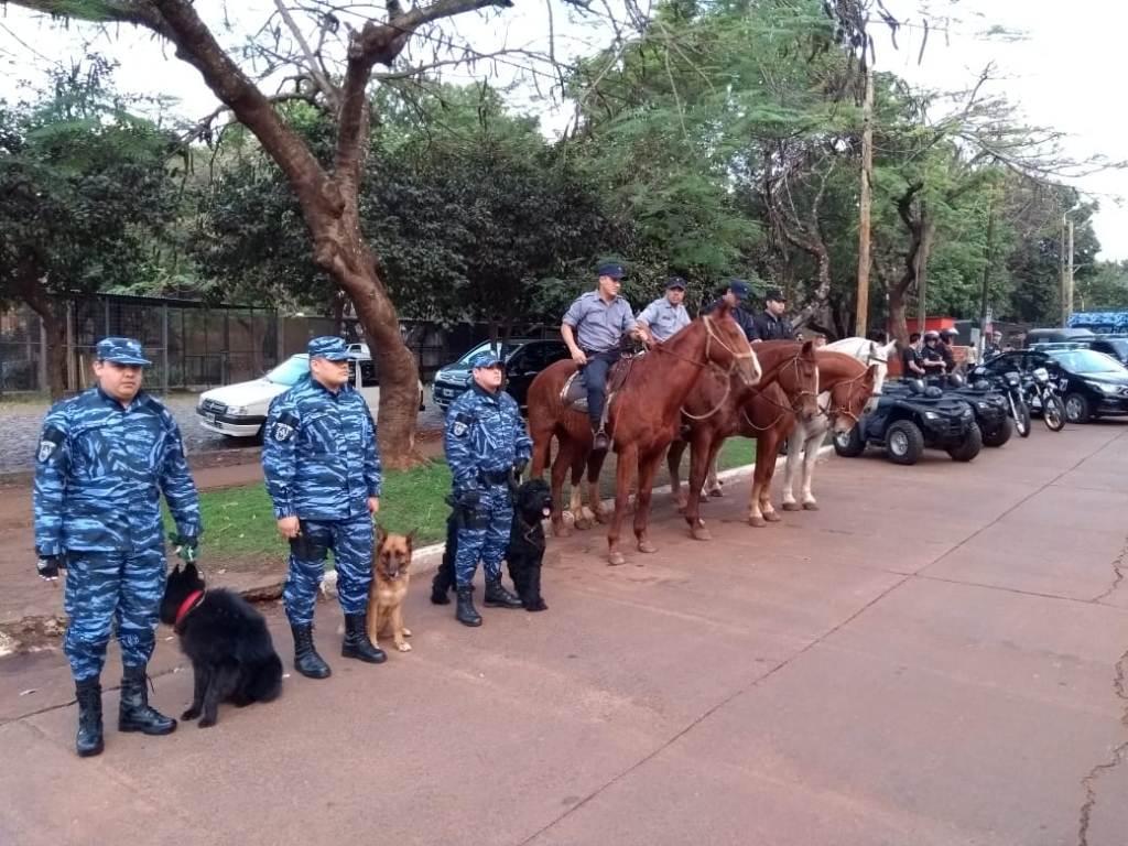 Continúa hoy el Megaoperativo con más de 400 Policías en  Villa Cabello y Yacyretá