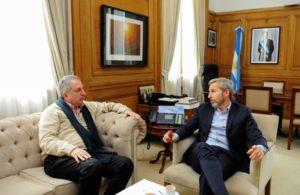 El gobernador Passalacqua se reunió con Frigerio