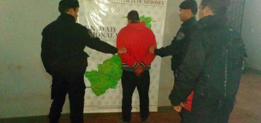 Polaquito fue acusado de haber asaltado y estrangulado al jubilado en Puerto Esperanza