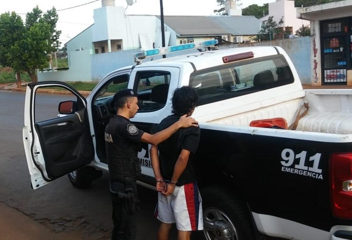 Cayó en San Isidro un joven que había amenazado con un cuchillo a una vecina