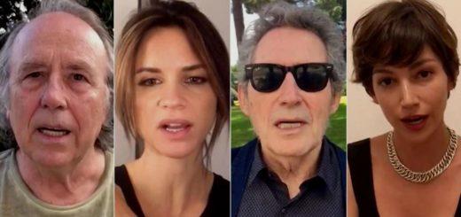 Joan Manuel Serrat y otros artistas españoles exigen la despenalización del aborto en la Argentina y lanzaron un spot como campaña