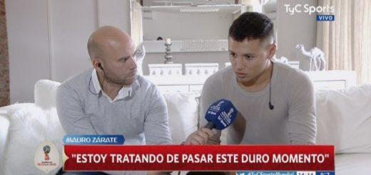 """Mauro Zárate y su ida a Boca: """"Decidí ir por este camino y defraudar a toda la gente de Vélez"""""""