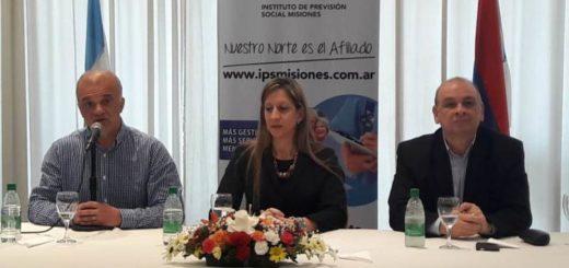 Presentaron a las nuevas autoridades de la rama pasiva y activa del IPS