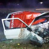 Inconsciente al volante: realizaban maniobras peligrosas y circulaba a alta velocidad sobre la ruta