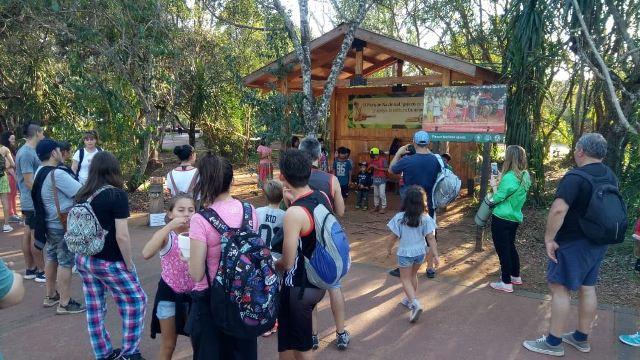 Más de 10.300 personas ya visitaron Cataratas este jueves