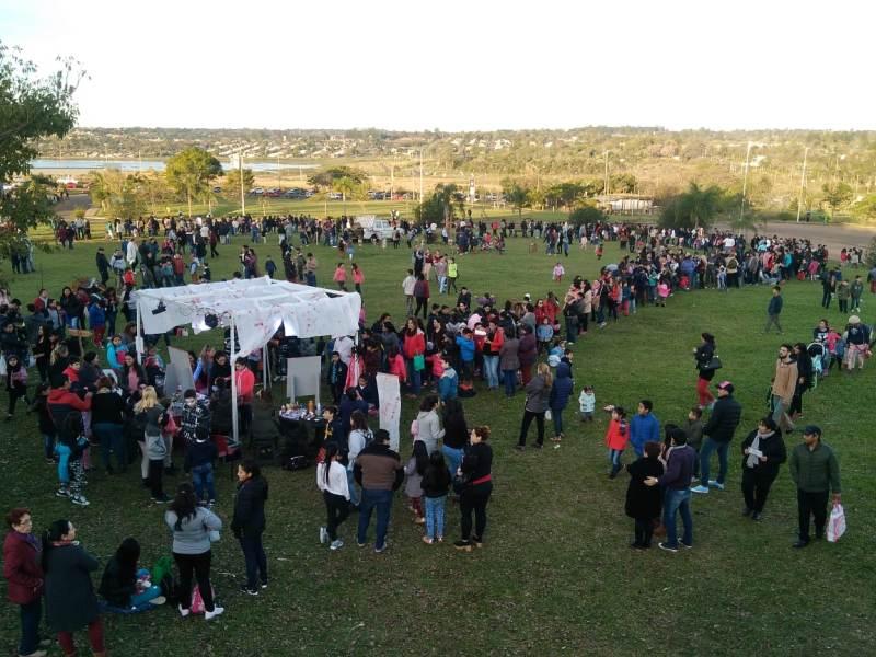 Miles de personas disfrutaron de una tarde soleada en el Parque del Conocimiento