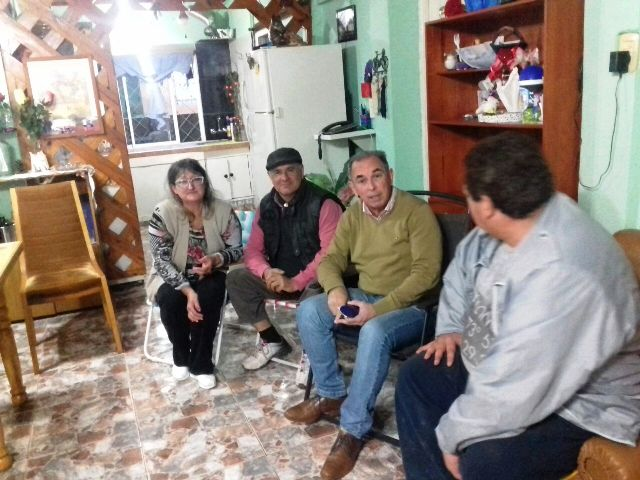 El presidente de Vialidad anunció obras en el barrio San Juan Evangelista de Posadas
