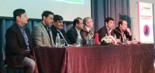 Se realiza en Posadas el Congreso Internacional de Protección Civil