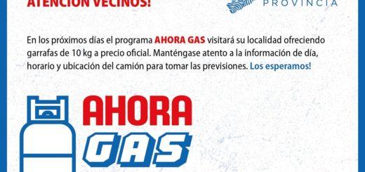 El programa #AhoraGas llega mañana a El Alcázar y Arroyo del Medio: mirá los próximos municipios donde habrá puntos de venta