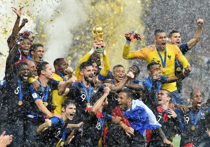 #Mundial2018: Francia le ganó a Croacia y se consagró campeón del mundo por segunda vez