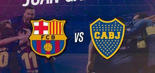 Boca y Barcelona, mano a mano por el trofeo Joan Gamper