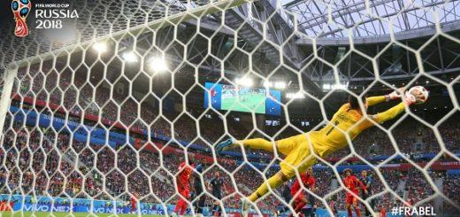 #Mundial2018: Al finalizar el primer tiempo, Bélgica y Francia empatan 0 a 0