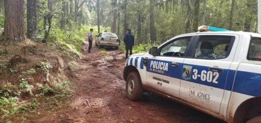 Tras un rápido accionar la Policía recuperó un auto robado en Eldorado