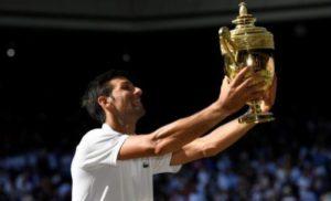 Djokovic barrió a Anderson y una vez más se consagró campeón de #Wimbledon