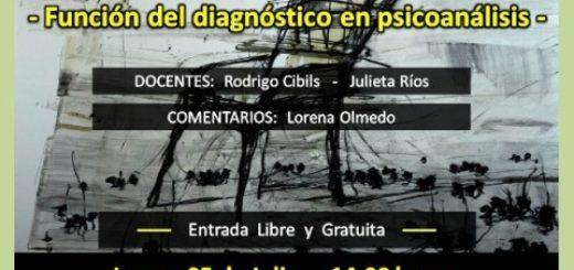 """Mañana comienza la Primera Conferencia de Neurosis y Psicosis: """"Función del diagnóstico en el Psicoanálisis"""""""