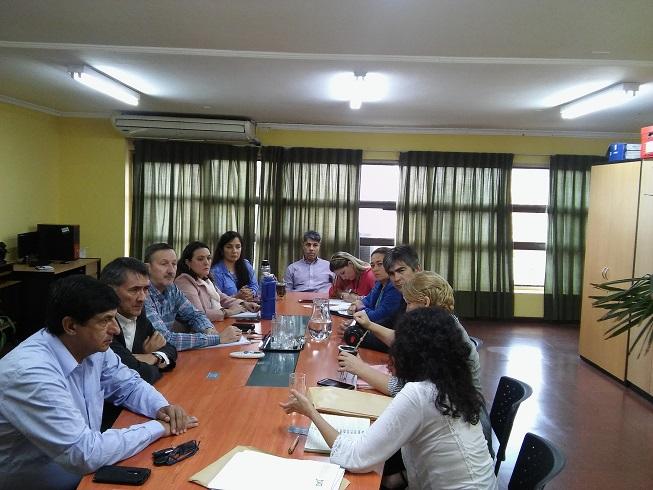 Directora de Desarrollo y Autogestión se reunió con integrantes de Copreti