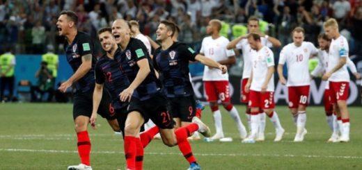 #Mundial2018: Croacia le ganó a Rusia por penales y enfrentará a Inglaterra en semis