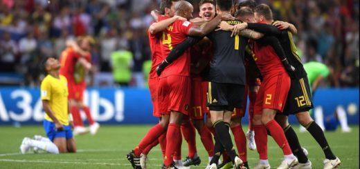 #Mundial2018: En un partidazo, Bélgica eliminó a Brasil