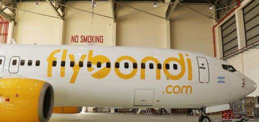 Un fiscal pidió suspender los vuelos de Flybondi y que se evalúe la seguridad de la low cost