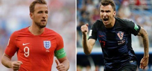#Mundial2018: Inglaterra y Croacia van en busca del otro lugar en la final