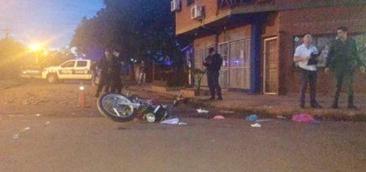 Iguazú: un motociclista tuvo lesiones graves al colisionar con un auto