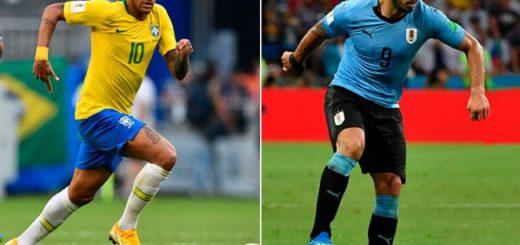 #Mundial2018: Brasil y Uruguay buscan un lugar en semis