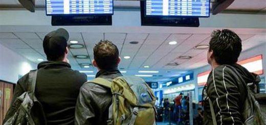La niebla paraliza los vuelos en Aeroparque, Ezeiza y El Palomar