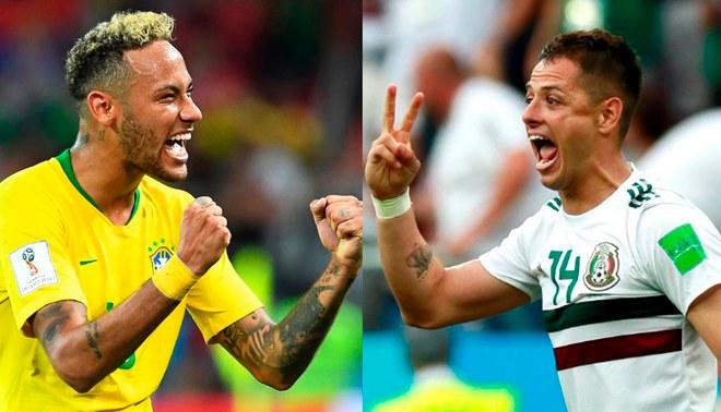 #Mundial2018: desde las 11 Brasil enfrenta a México
