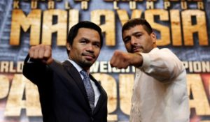 Lucas Matthysse - Manny Pacquiao, Hora y canal que transmite la pelea