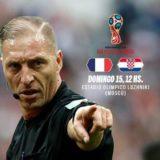 """#Mundial2018: """"Es sorprendente y emotivo"""", las sensaciones de Pitana pensando en la final Francia-Croacia"""