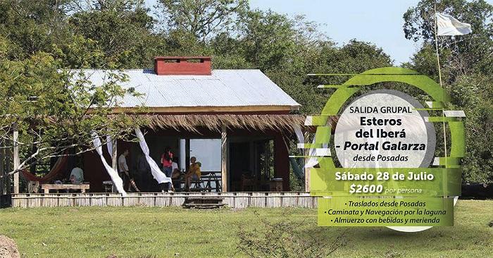 Nueva excursión por los Esteros del Iberá con salida grupal desde Posadas
