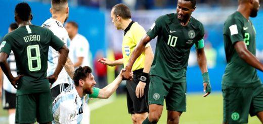 #Mundial2018: El drama del capitán de Nigeria mientras jugaba ante Argentina