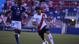 River goleó a Millonarios de Colombia, en su segundo amistoso de la temporada