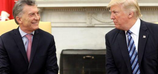 Donald Trump visitará la Argentina en noviembre para participar del G20