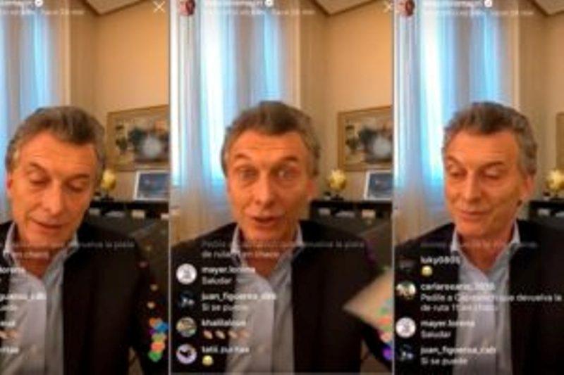 La reacción del presidente cuando le preguntaron: «¿Qué opinás que te digan 'Macri gato'?»