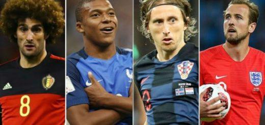 #Mundial2018: Dónde y cuándo serán las semis de la Copa del Mundo