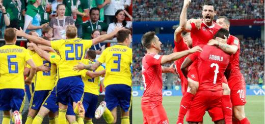 #Mundial2018: juegan Suiza y Suecia a las 11, mientras que a las 15 se enfrentan Colombia e Inglaterra