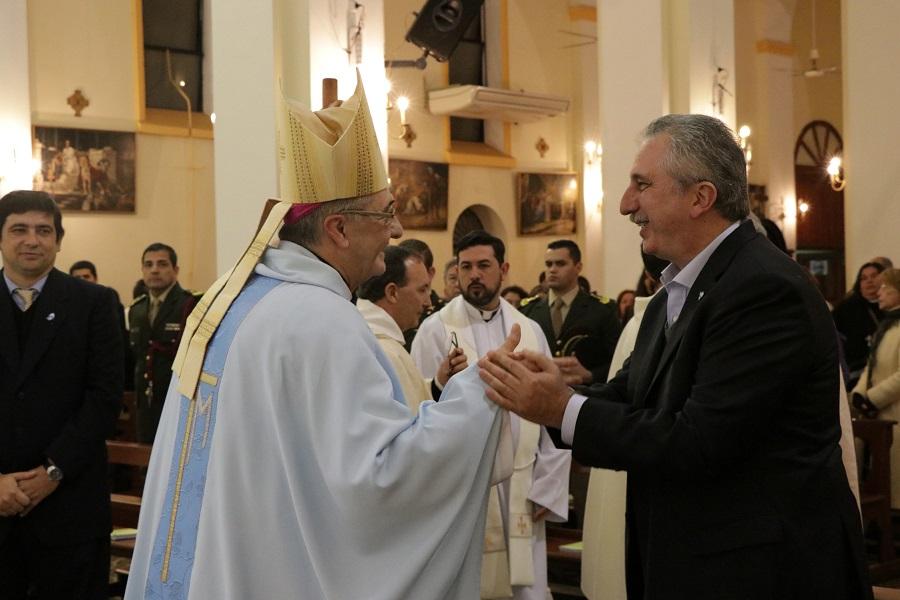 Passalacqua participó de la misa por la Patria en la catedral de Posadas