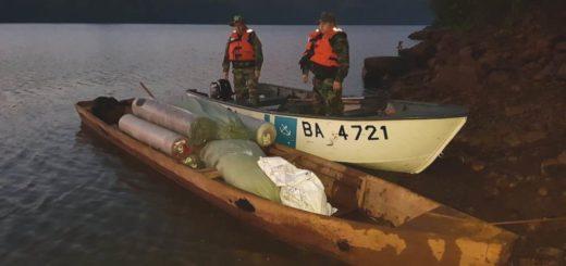 Prefectura secuestró más de 250 mil pesos en telas en El Soberbio