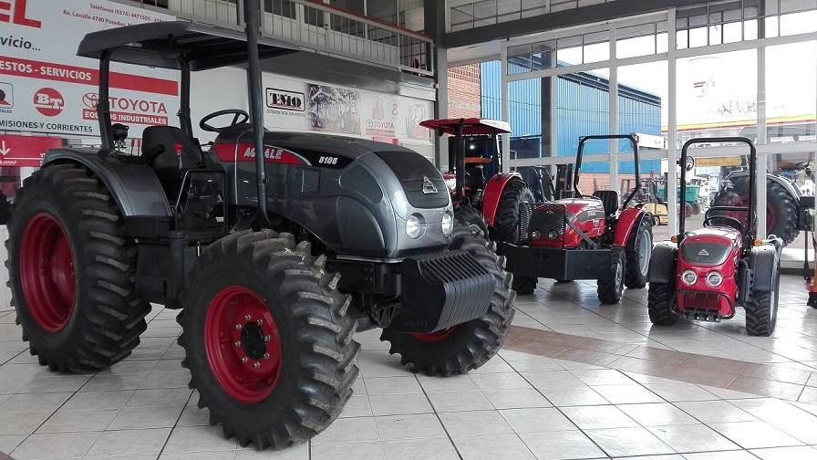 Observan una retracción de hasta el 60% en la venta de tractores y máquinas agrarias