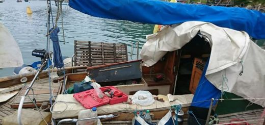 Aparecieron los tres argentinos que viajaban desde Brasil en el velero Gipsy II