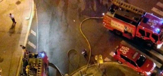 Barcelona: un hombre perdió la vida en un incendió intentando salvar a su perro