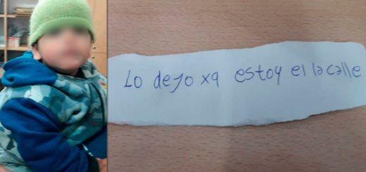 Mujer abandonó a su hijo de un año y medio de edad sobre una vereda en Buenos Aires