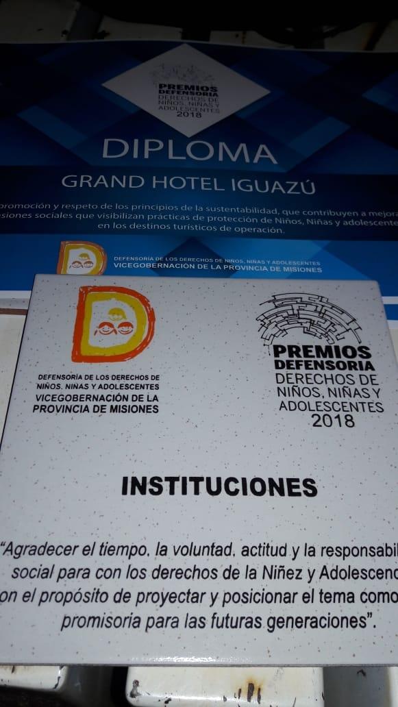 Iguazú Grand y Panoramic Grand premiados
