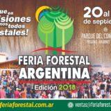 Con más expositores que en 2017, la Feria Forestal Argentina es un éxito que se supera año tras año