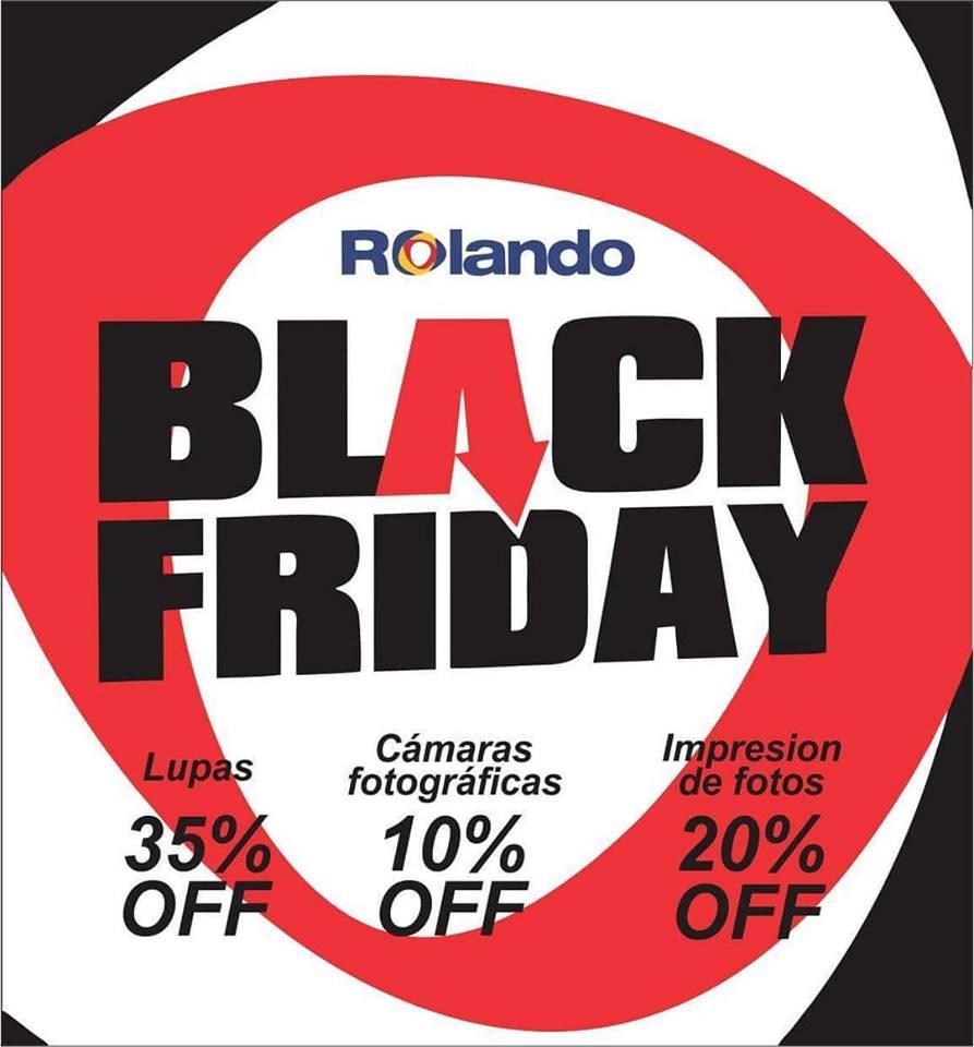 Black Friday: Para los amantes de la tecnología y viajes, descuentos de hasta 35% en Rolando
