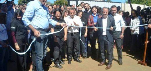 Inauguraron en Eldorado el primer DIAT del SEDRONAR de Misiones