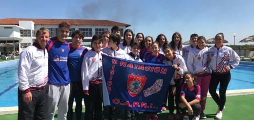 Natación: El Club Capri finalizó segundo en Asunción